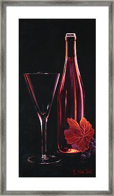A Prelude To Romance Framed Print