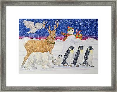 A Present For Santa  Framed Print