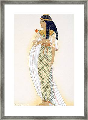 A Princess Framed Print by Francois-Louis Schmied