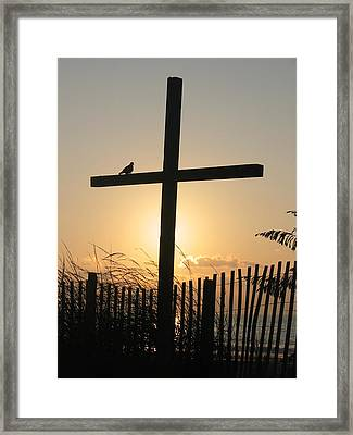 A Promise Kept Framed Print
