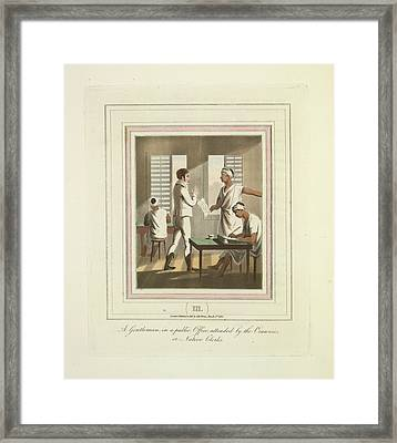 A Public Office Framed Print by British Library