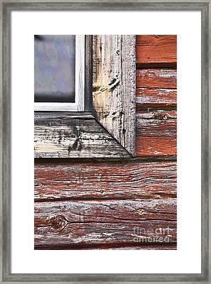 A Quarter Window Framed Print by Heiko Koehrer-Wagner