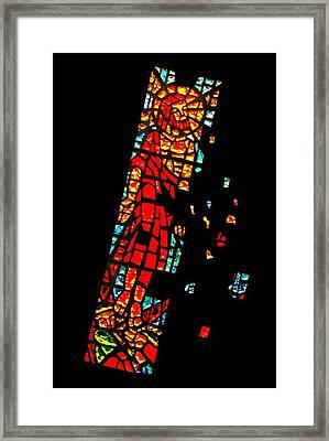 A Question Of Faith Framed Print