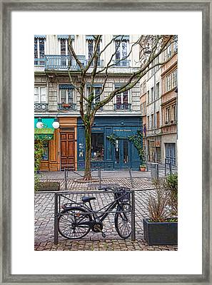 A Quiet Day In Lyon Framed Print