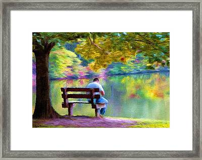 A Quiet Day Framed Print by Tyler Robbins