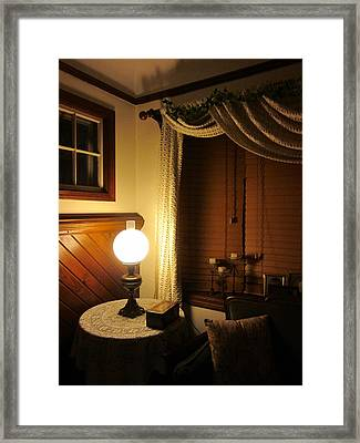 A Quiet Little Corner Framed Print by Guy Ricketts