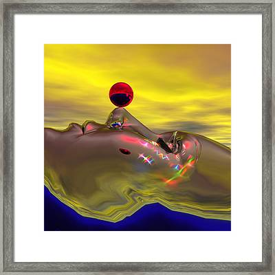 A Quiet Mind Imagining Time - Open Edition Framed Print by Joey Havlock