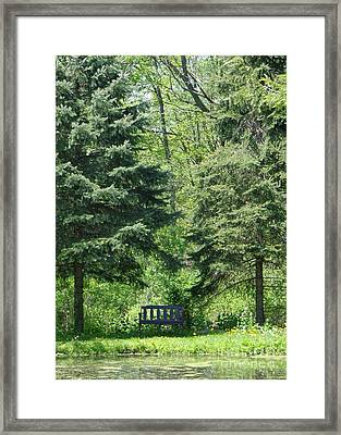 A Quiet Moment Framed Print by Christina Verdgeline