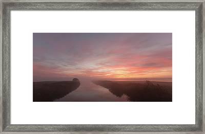 A Quiet Moment. Framed Print