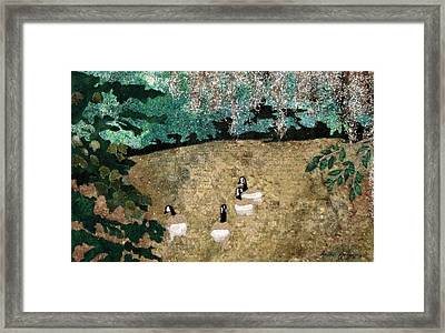 A Quiet Place Framed Print by Anita Jacques