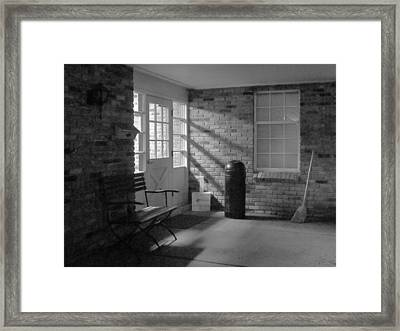 A Quiet Place Framed Print by Guy Ricketts