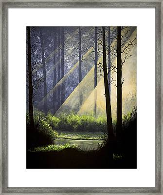 A Quiet Place Framed Print by Jack Malloch