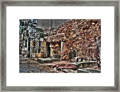 Framed Print featuring the photograph A Quiet Place To Pray by Doc Braham