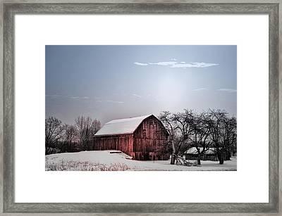 A Quiet Winter Day Framed Print