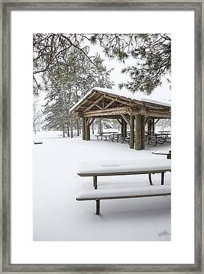 A Quiet Winter Day Framed Print by Tim Grams