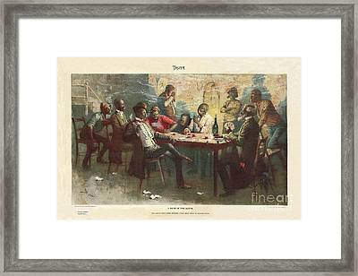 A Raise - In The South Framed Print by Unclear