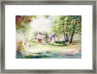 A Rare Day Framed Print by Patricia Schneider Mitchell