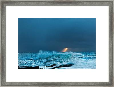 A Ray Of Light Framed Print