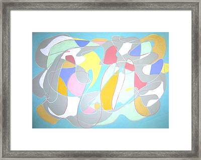 A Reasonable Composition Framed Print by Esther Newman-Cohen