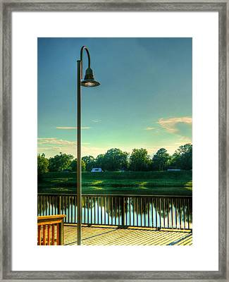 A Recall Of Yesterday Framed Print