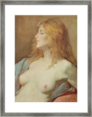 A Redhead Framed Print by John Edward Goodall