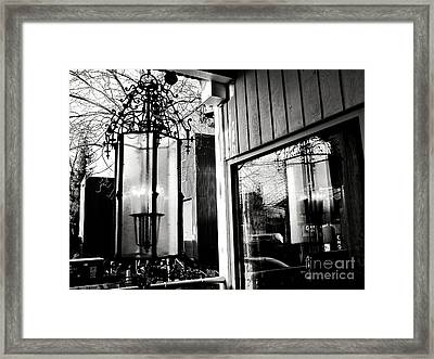 Framed Print featuring the photograph A Reflection by Cendrine Marrouat