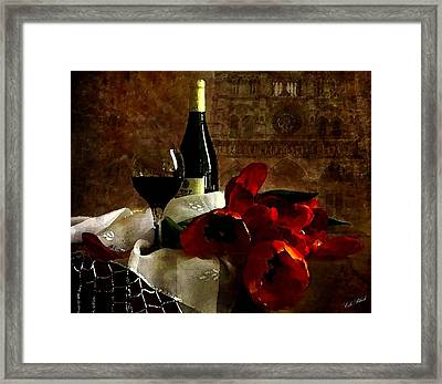 A Relaxing Afternoon Framed Print by Cole Black