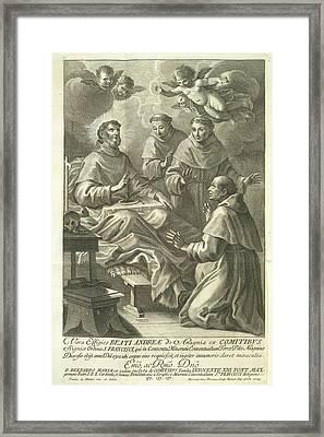A Religious Scene Framed Print