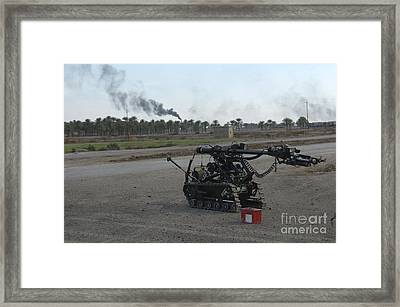 A Remote Controlled Vehicle Used Framed Print