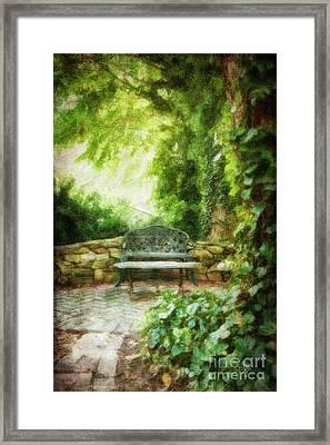A Restful Retreat Framed Print by Lois Bryan