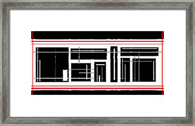 A Reverse Engineering Method   Creative Thinking Method Framed Print