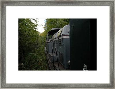 A Ride In Spring Framed Print