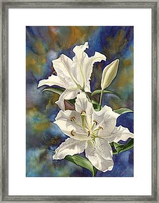 a Riot of Beauty Framed Print by Alfred Ng