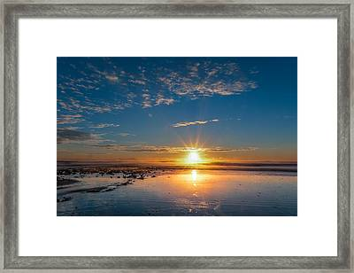 A Rising Star Framed Print