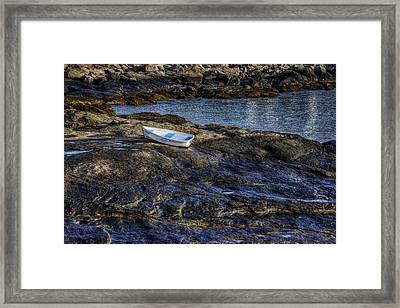 A Rising Tide Framed Print by Joan Carroll