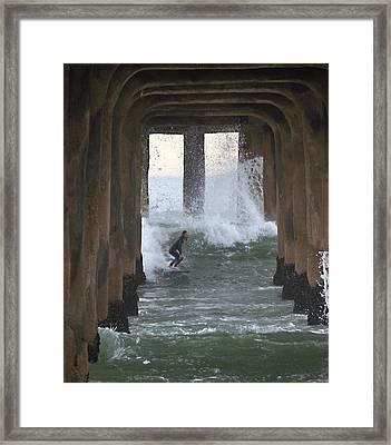 A Rite Of Passage Framed Print