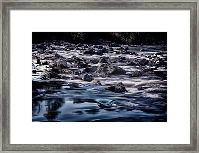 A River Called Iller Framed Print