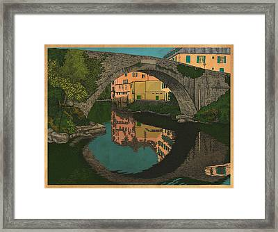 A River Framed Print