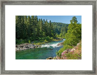 A River Runs Through It Framed Print