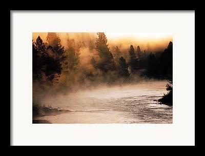 Montana State Parks Framed Prints