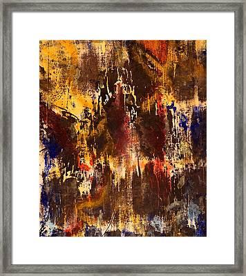 A River's Edge Framed Print