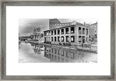 A Rivers Progress Framed Print by Arthur Warlick