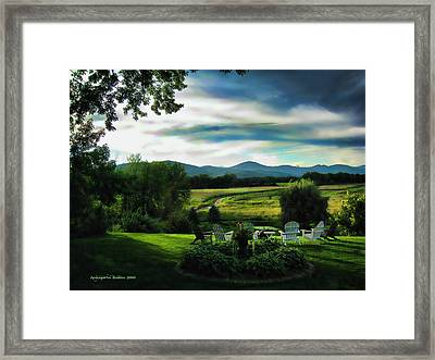 A Road Less Traveled Framed Print by Aleksander Rotner