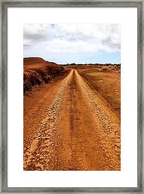 A Road Less Traveled Framed Print by DJ Florek