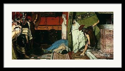 Claudius Framed Prints