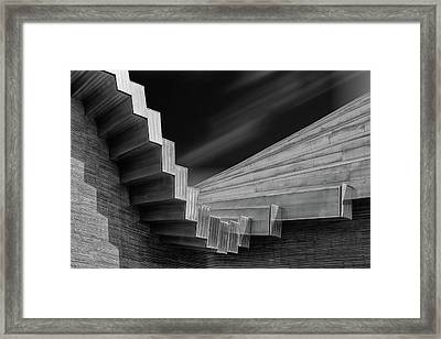 A Roof By Calatrava Framed Print