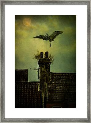 Framed Print featuring the photograph A Room For The Night by Chris Lord