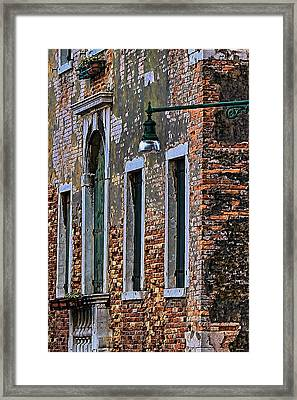 A Room In Venice Framed Print by Tom Prendergast