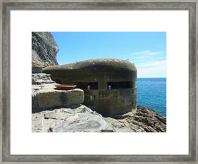 A Room With A View Framed Print by Adrienne Franklin