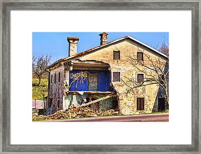 A Room With A View Framed Print